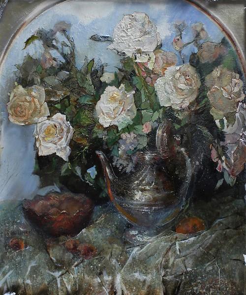 """The Arch"" (oil on canvas) by Evgenia Severskaya"