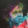 """""""Gypsy Boy"""" (acrylic on canvas) by Ksenia Yunga"""