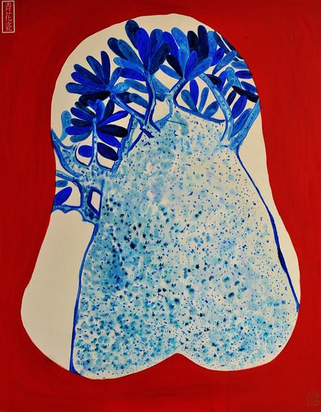 """""""Big Tree"""" (oil on canvas) by Lynn Chen"""
