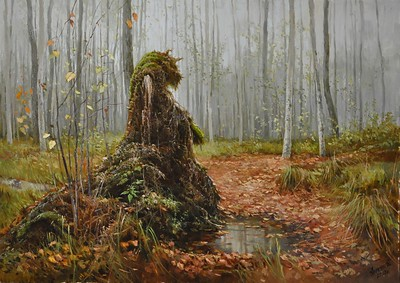 """""""So quiet and light"""" (oil on canvas) by Alexey Anikin"""