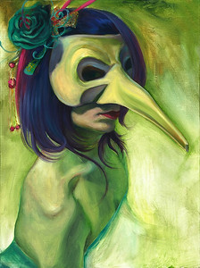 """""""The Known"""" (oil on canvas) by Daniele Gabriel"""