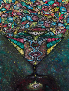 """Entropy"" (oil on canvas) by Ekaterina Denezhkina"
