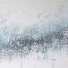"""Mint rain"" (acrylic on canvas) by Anna Vostrik"