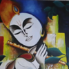 """Diversity and culture- Asian culture"" (acrylic on canvas) by Dhwani Sikligar"