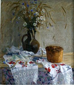 """""""Celebration's still life"""" (oil on canvs) by Alexandr Kaporushkin"""
