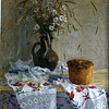 """Celebration's still life"" (oil on canvs) by Alexandr Kaporushkin"