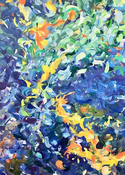 """""""Water Dance"""" (acrylic) by Carolyn Bossert"""