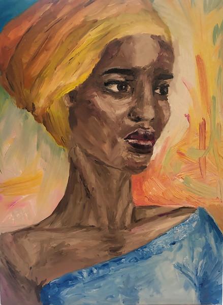 """The Bitterness Of The world "" (oil on canvas) by Tatiana Konevtseva"