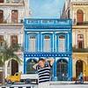 """""""Impression of Cuba"""" (oil on linen) by Jin Li"""
