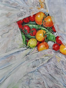"""""""Fresh Picked"""" (watercolor) by Steffi Colao"""