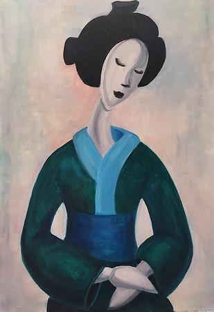 """HARMONY"" (oil on canvas) by Maria Danilenko"