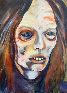 """""""It Was Dark"""" (oil on canvas) by Michael Hemphill"""