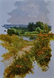 """Fantasy"" (oil on canvas) by Alexey Anikin"