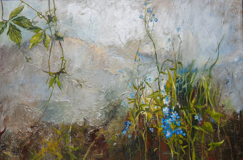 """Field"" (acrylic) by Julia Hacker"