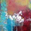 """""""Devotion"""" (acrylic on canvas) by Nikol Wikman"""