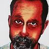 """Mr.Butler"" (acrylic on canvas board) by Suman Manjania"