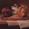 """Flavours of Onion"" (oil) by Mabe Collins Brown"