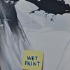"""Wet Paint"" (acrylic paint) by Eric Mantle"