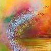 """Magic Happens"" (acrylic on canvas) by Nikol Wikman"