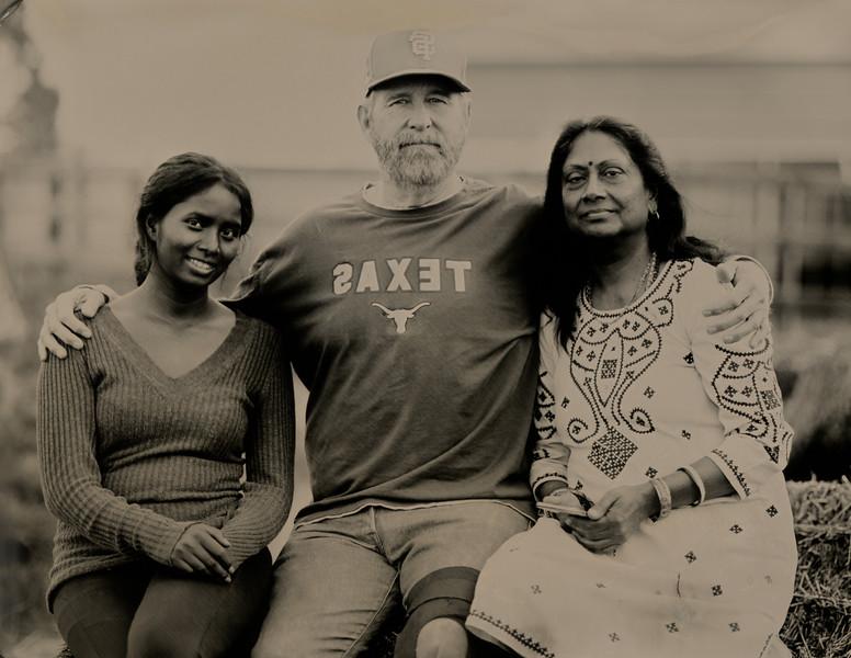 Manisha Singh, Mukul Banbihari and Madhulika Singh, PreetiRang Sanctuary, Dixon, CA
