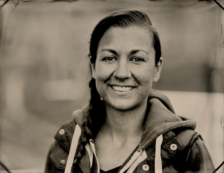 Rhianna Axon, Animal caregiver, Charlie's Acres Sanctuary. Sonoma, CA.