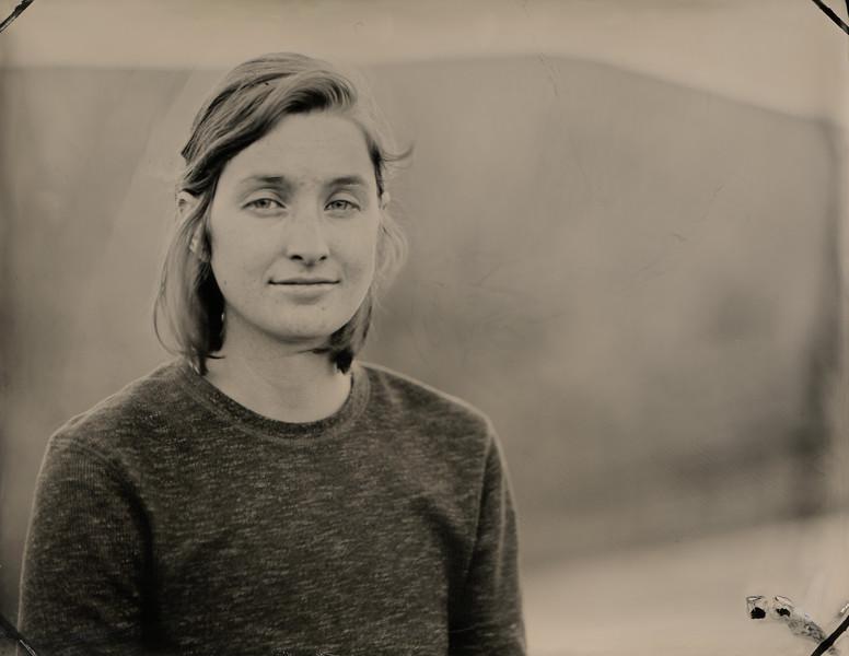 Anya Petit, Animal Caregiver Volunteer, Farm Sanctuary. Orland, CA