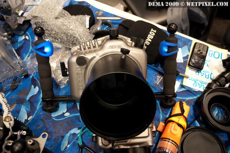 10Bar housing for Canon 5D Mark II