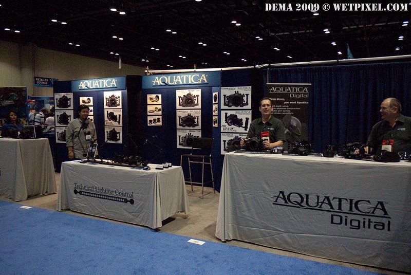 Aquatica booth