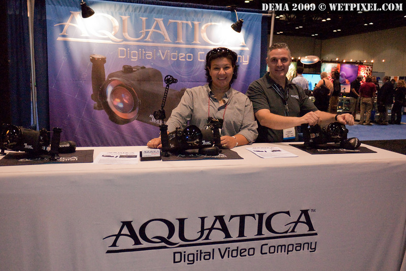 Norma Alonzo and Joe Bendaham of Aquatica