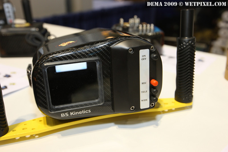 BS Kinetics carbon fiber housing for Sony SR30