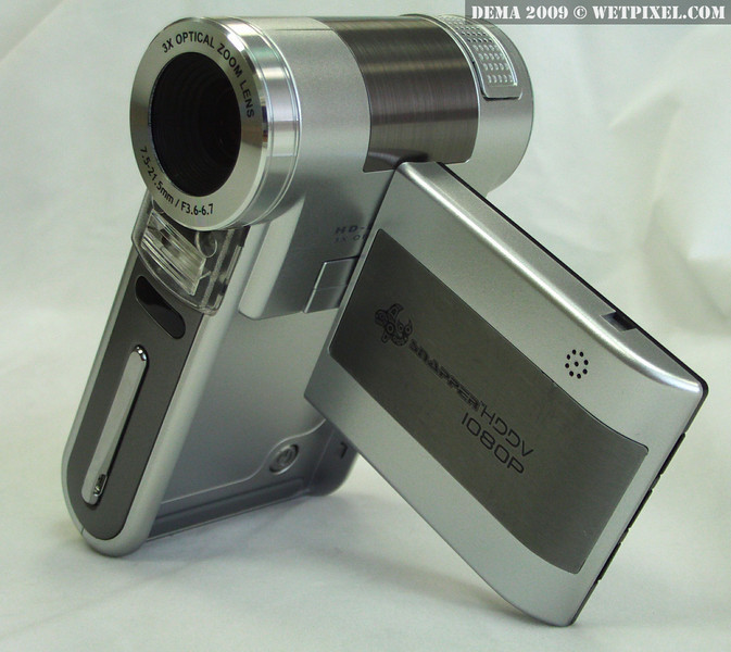 The Bonica Snapper 1080p HDDV camera, out of housing