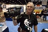Rick Morris and his homemade video mount