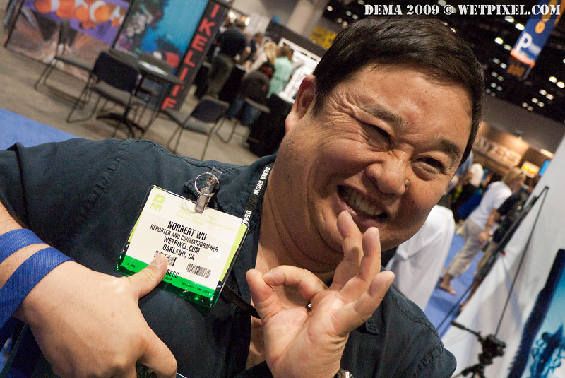 Norbert Wu is on the Wetpixel badge. Danger! Danger!