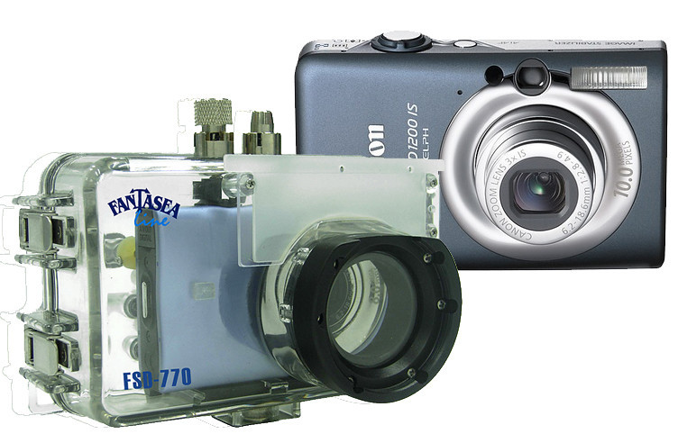 Fantasea Line FSD-770 Housing (#1385) for Canon PowerShot SD1200 IS / IXUS 95 IS camera