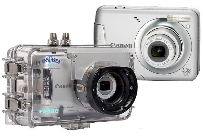 Fantasea Line FA-480 Housing (#1387) for Canon PowerShot A480 Digital Camera