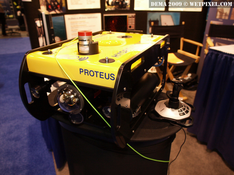 The Hydroacoustics Proteus ROV, up close and personal