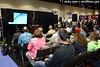 Berkley White of Backscatter gives a talks about video with dSLRs at the Digital Imaging Pavilion