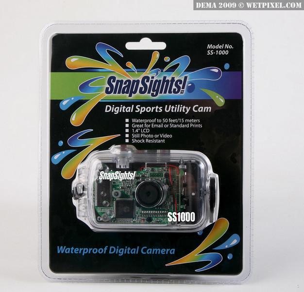 Intova Snap Sights! SS1000 waterproof camera