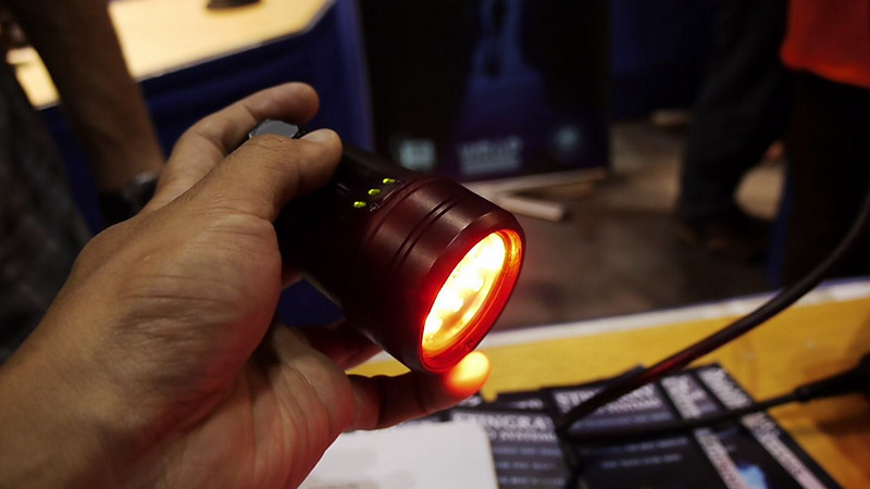 VIDEO: Demo of new L&M Compact Imaging Light prototype (click through to see video)