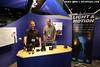 Dan Baldocchi and Daniel Emerson at the Light & Motion booth