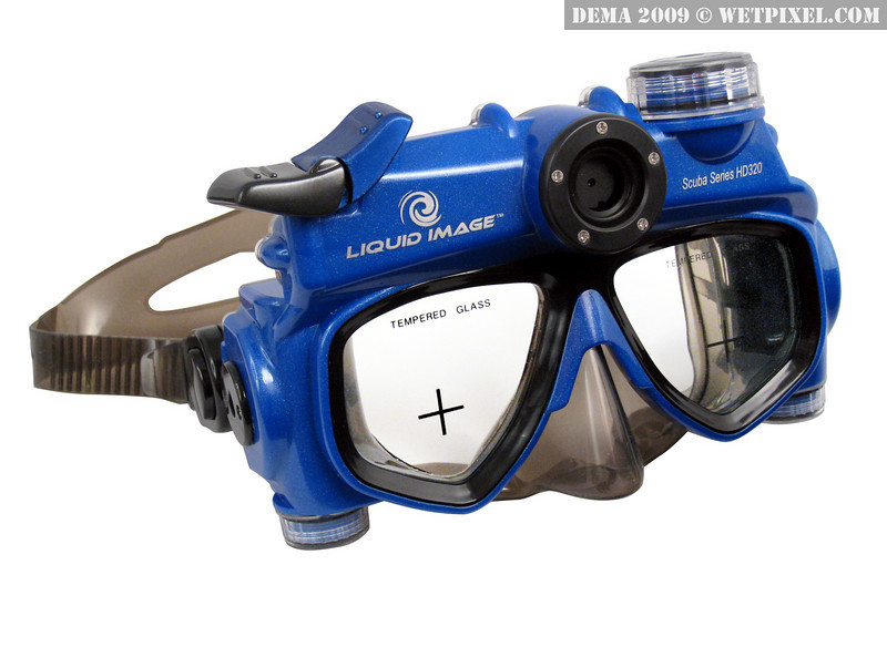 Liquid Image Scuba Series HD 320 model features both a High Definition 720P Video mode (1280 x 720P, 30fps) and a 5.0 MP Camera Mode. Depth rated to 115ft/35m.