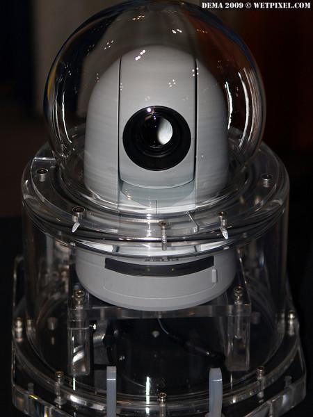 The Ocean Presence OPT-10 HD underwater PTZ Internet Camera.