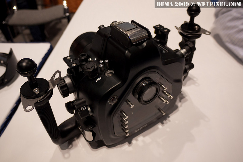 Nauticam underwater housing for Nikon D700
