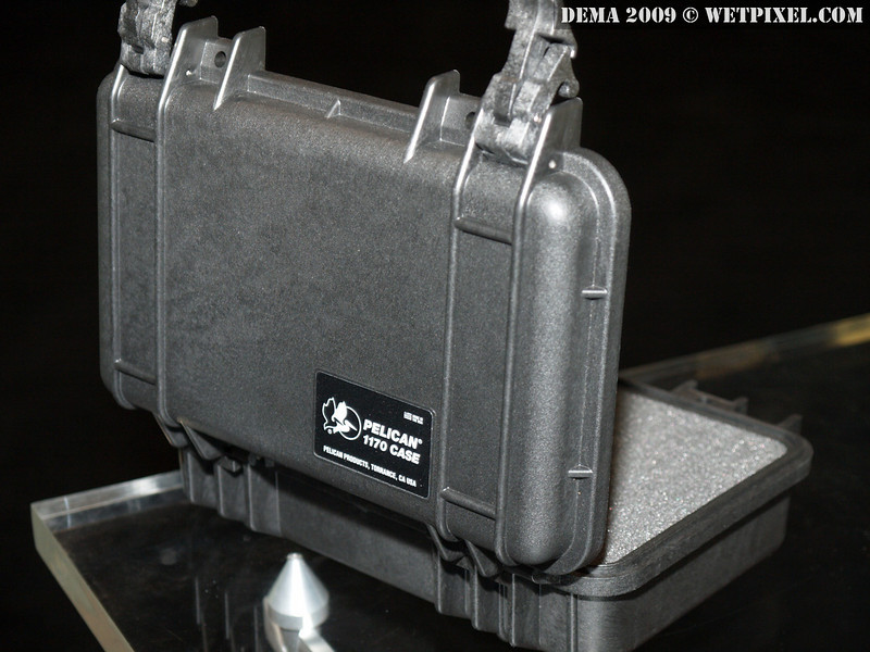 New for 2009 is the 1170 Pelican waterproof case.