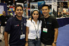 Juan Carlos and Emily of Deep Blue, and Eric Cheng