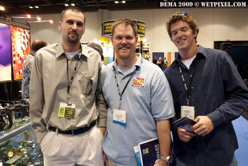 Travis Swanson, Andy DeHart and Ben Sampson