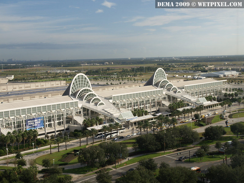 The Orange County Convention Center in Orlando, Florida