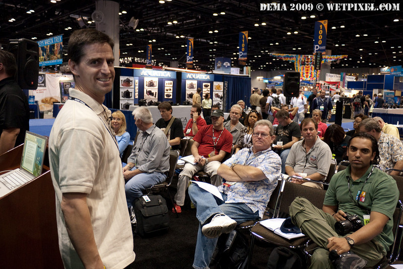 Shawn Heinrichs gives a talk about white balancing digital video