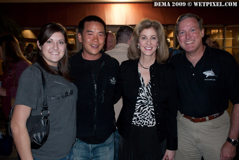 Eric Cheng with Kim, Carol and Doug Ebersole