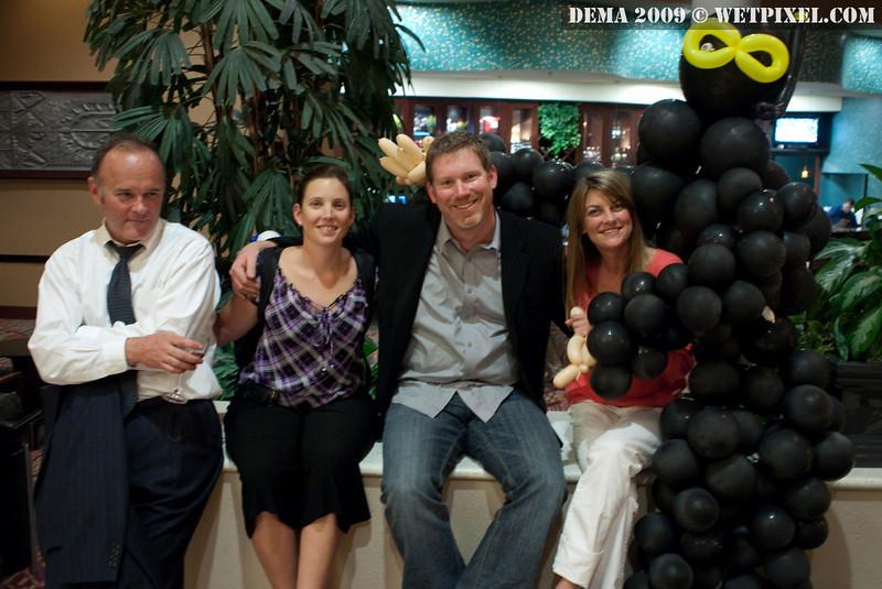 Abigail Smigal, Christian McDonald, and friends